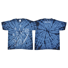 銀河遊牧民Tシャツ【Spider Navy】