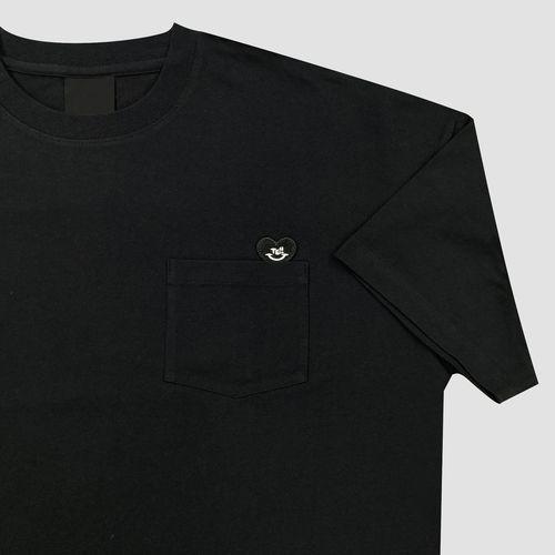 オーバーTシャツ/ブラック