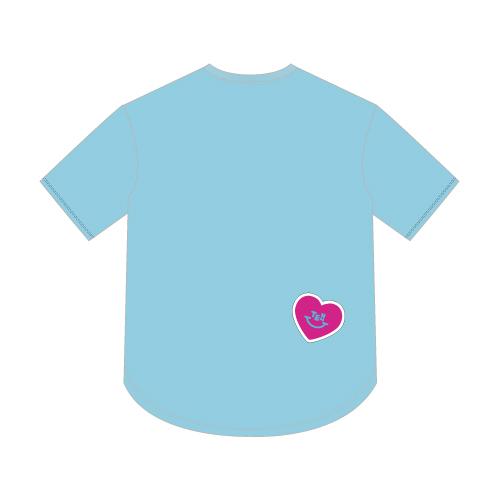 オーバーTシャツ/ライトブルー