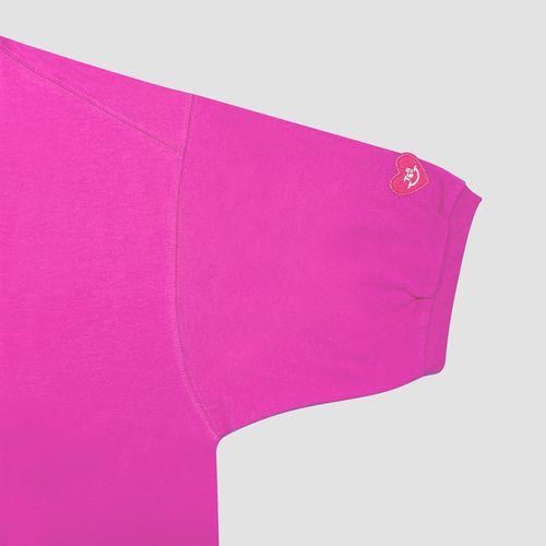 パフスリーブTシャツ/ピンク