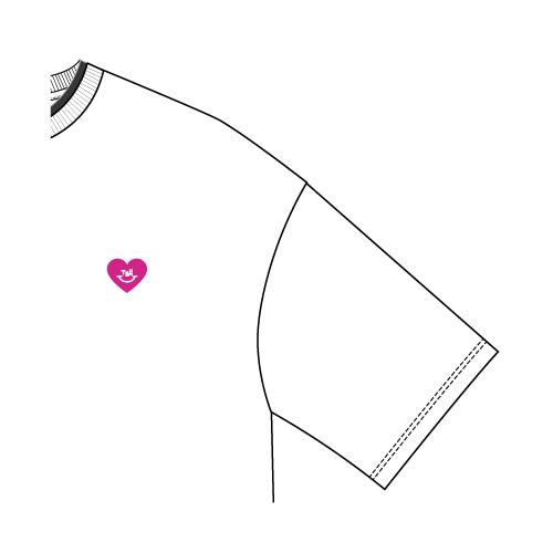 レイヤードTシャツ/ホワイト