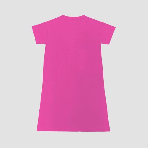 ワンピースTシャツ/ピンク