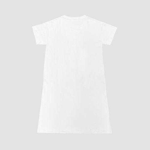 ワンピースTシャツ/ホワイト