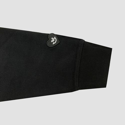 プルオーバーパーカー/ブラック