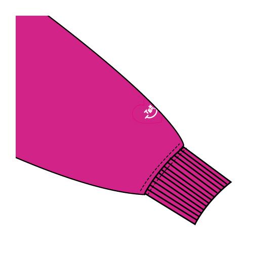 プルオーバーパーカー/ピンク