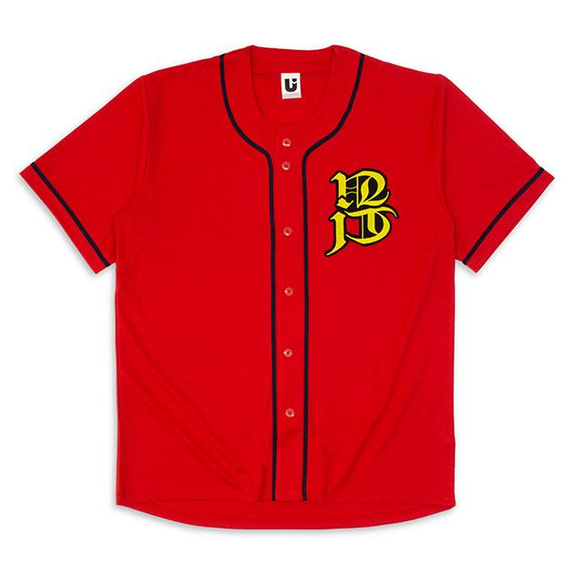 【TAKUYA∞ Produce】ベースボールシャツ (紅)