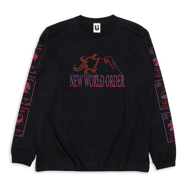 【信人 Produce】N.W.O.Tシャツ(ロングスリーブ/BLACK) - LIVE HOUSE TOUR 2019