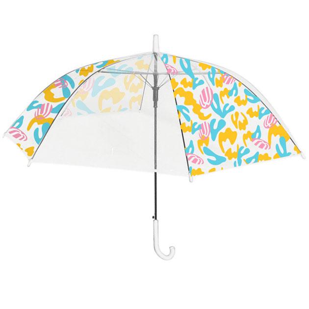 【克哉 Produce】Uw Umbrella(ビニール傘) マルチカラー