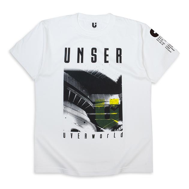 Tシャツ【A】TOUR(ホワイト) - UNSER TOUR