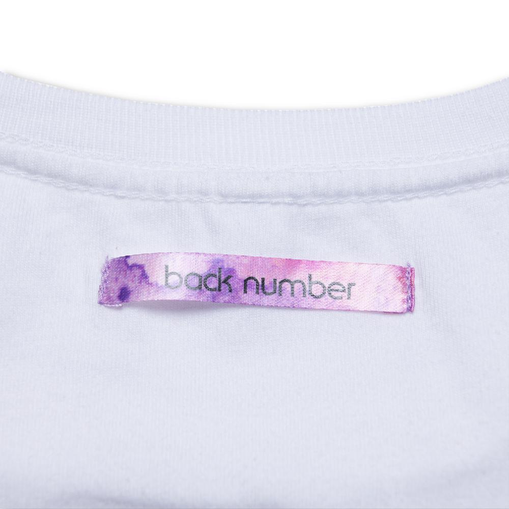 水彩グラフィックTシャツ/ホワイト