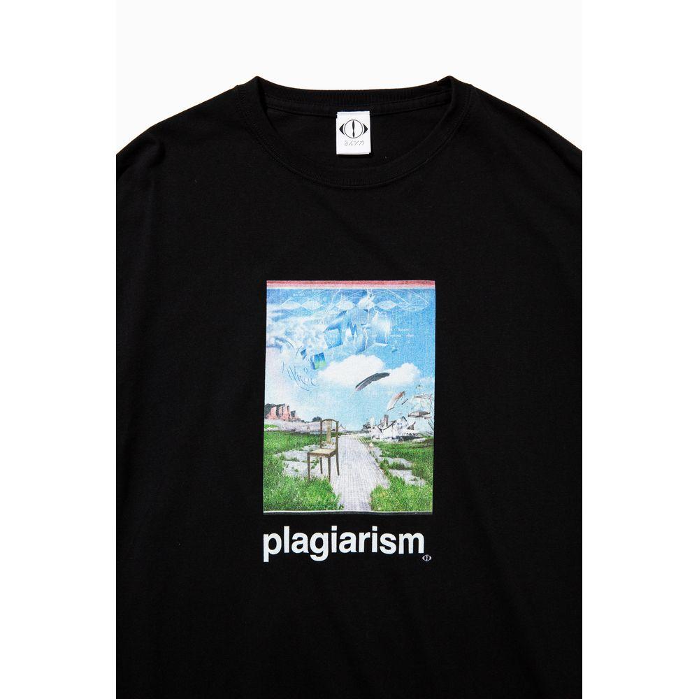 盗作 Tシャツ <Type A> /ブラック