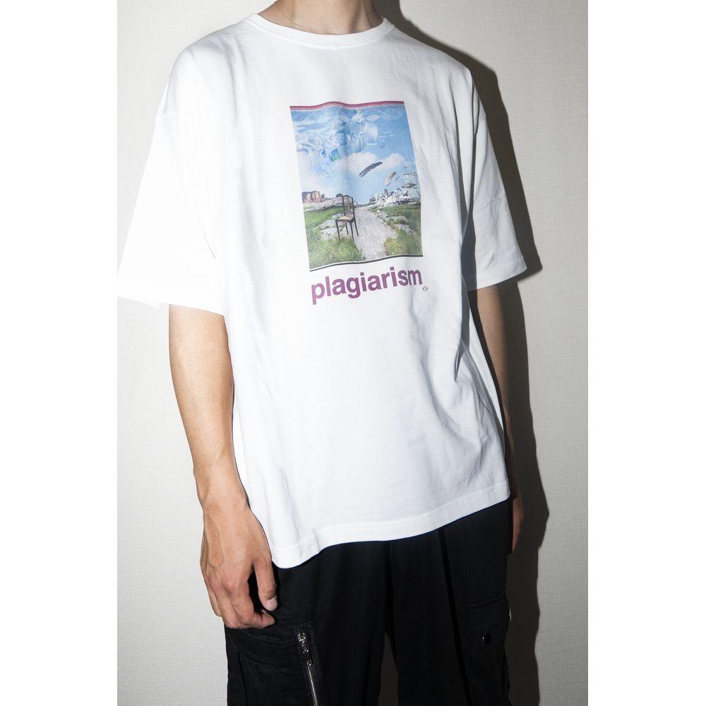 盗作 Tシャツ <Type A> /ホワイト