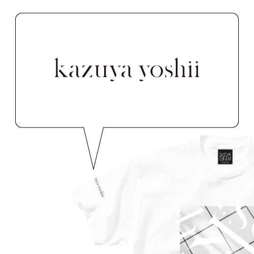 kazuya yoshii PHOTO Tシャツ